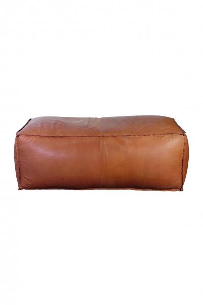 grafinteriors sch ner wohnen geht ganz einfach pouf aus edlem leder 120x60x45 cm house doctor. Black Bedroom Furniture Sets. Home Design Ideas