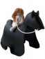"Preview: Kinderstuhl ""Skools HORSE"" - black"