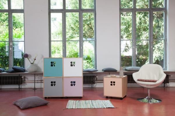 grafinteriors sch ner wohnen geht ganz einfach aufbewahrungsbox cuby fresh green. Black Bedroom Furniture Sets. Home Design Ideas
