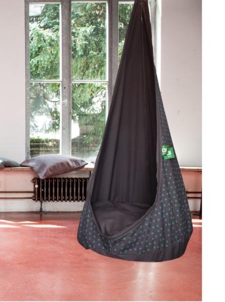 grafinteriors sch ner wohnen geht ganz einfach h ngesessel f r kinder relaxme dunkelblau. Black Bedroom Furniture Sets. Home Design Ideas